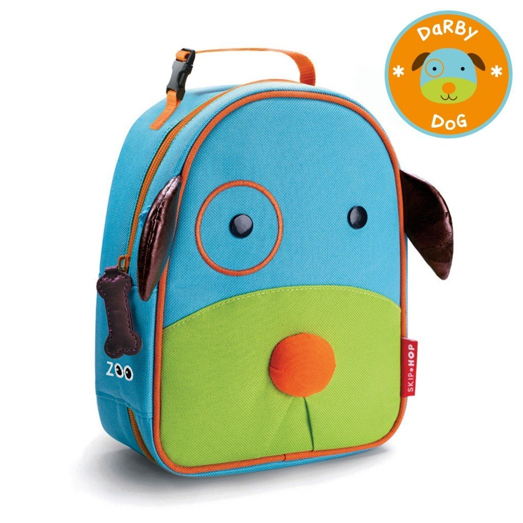 Skip Hop Zoo Lunchie Insulated Kids Lunch Bag Dog