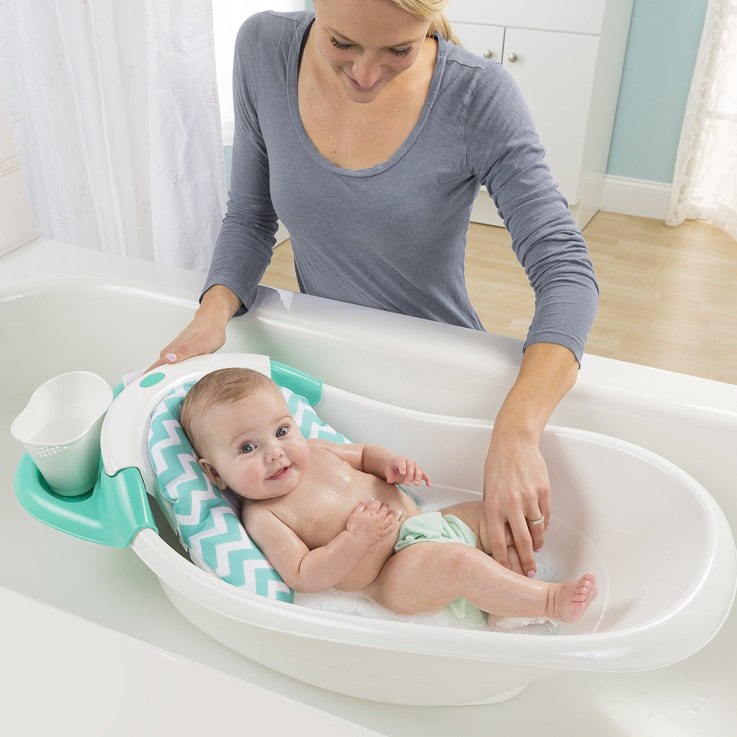 Summer Infant Warming Waterfall Bathtub - Ideal Baby