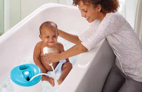 Summer Infant Newborn to Toddler Bath and Shower Tub - Ideal Baby