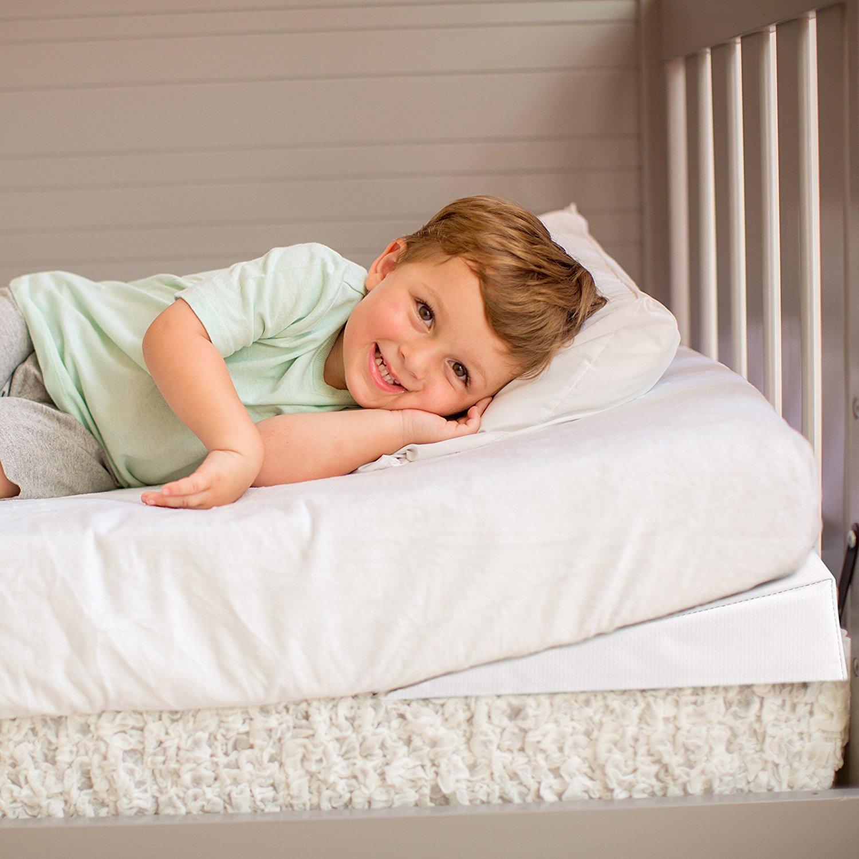 Swaddleme Good Vibes Vibrating Crib Wedge Ideal Baby
