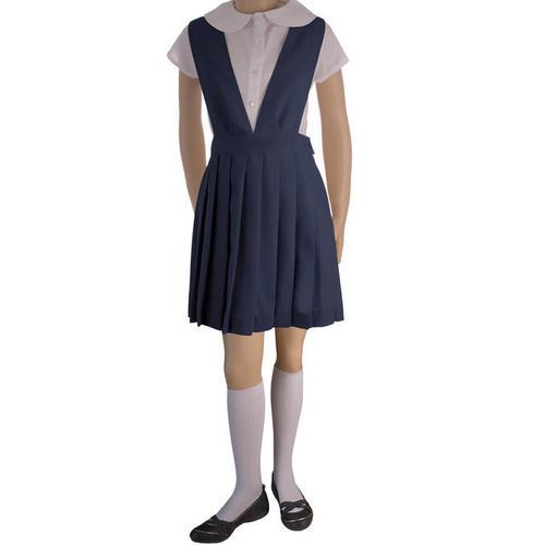 French Toast 50% Off School Uniform Girls V-Neck Jumper, Navy