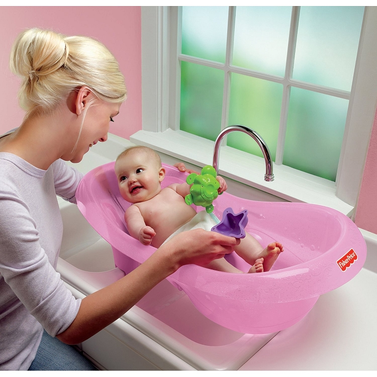 Fisher Price Bath Center Pink Sparkles - Ideal Baby