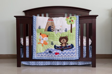 Cuddle Time Adventureland  Bedding Crib Set 3-Pieces