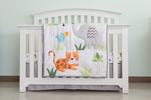Cuddle Time Amazonia Bedding Crib Set 3-Pieces