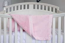Cudle Time Embroidery Blanket Valboa Pink