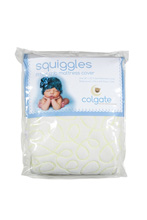 Colgate Squiggles Fitted Crib Waterproof Pad