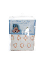 Colgate Dottie Lottie Fitted Crib Waterproof Pad