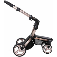 Agi Supreme Mima Kids Xari Stroller Chassis Only Rose Gold