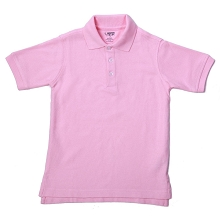 French Toast 60% Off School Uniform Boy Pique Polo, Pink 16-20