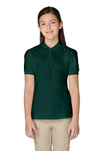 French Toast 50% Off School Uniform Girl Polo Size 4, Hunter Green