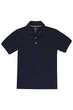 French Toast 50% Off School Uniform Skinny Polo, Girl  Navy