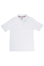 French Toast School Uniform 50% Off Skinny Polo Girl,  White