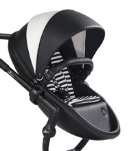Mima Kids Xari Seat Box (Only) Black and White