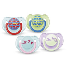 Avent Classic Soothers Pacifier Toddler 6-18m , 2 Pack