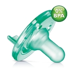Avent Soothie Pacifier, 0-3m, BPA Free, Green, 2 Pack