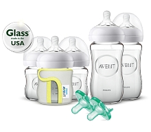 Phillips Digital Natural Glass Starter Set Newborn