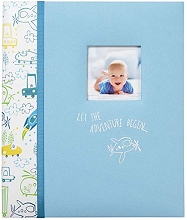 Carter's Loose Leaf Baby Memory Book - Adventure Begin