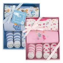 CribMates 4 Pieces Gift Box Set 0-6 Months