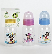 Disney Baby Bottle 5oz Mickey-Minnie