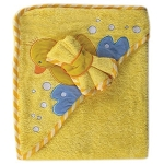 Baby Vision Hooded Towel Wash Cloths