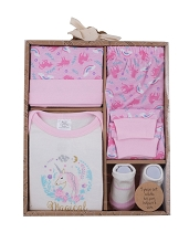 Baby Essentials Layette Set 4 Pieces Magical, 0-6 Months