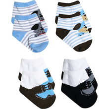 A.D.Sutton Doggie Booties Gift Box 4-Pack Boy