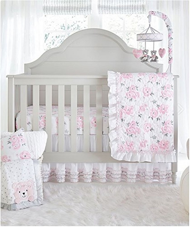 Wendy Bellisimo Savannah Bedding Crib Set 4 Pieces