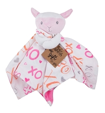 A.D.Sutton Snuggle Toy Lamb Pink