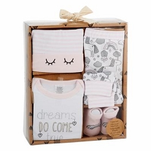 Baby Essentials Layette Set 4 Pieces Dream Come True , 0-6 Months