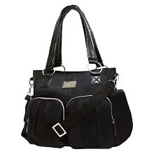 Wendy Bellissimo Squeeze Diaper Bag Black