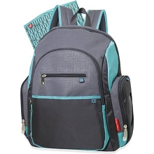 Fisher Price Backpack Grey-Green