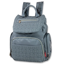 Fisher Price Quilted Flap Back Pack Grey 3-Pieces