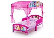 Delta Princess Canopy Toddler Bed