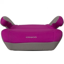 Dorel Cosco Topside No Back Booster Seat-Magenta