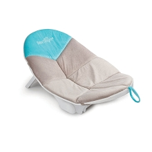 Baby Delight Cushy Nest Cloud Premium Infant Bather Gray-Teal