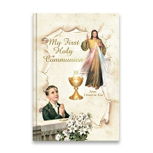 San Francis 1st Communion MIssal English Large Divine Mercy