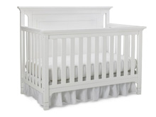 Ti Amo Carino Convertible Crib, Snow White