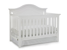 Ti Amo Catania Convertible Crib, Snow White