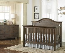 Ti Amo Catania Convertible Crib Weathered Brown