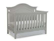 Ti Amo Catania Convertible Crib, Misty Grey