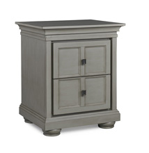 Dolce Babi Serena Nightstand, Saddle Grey