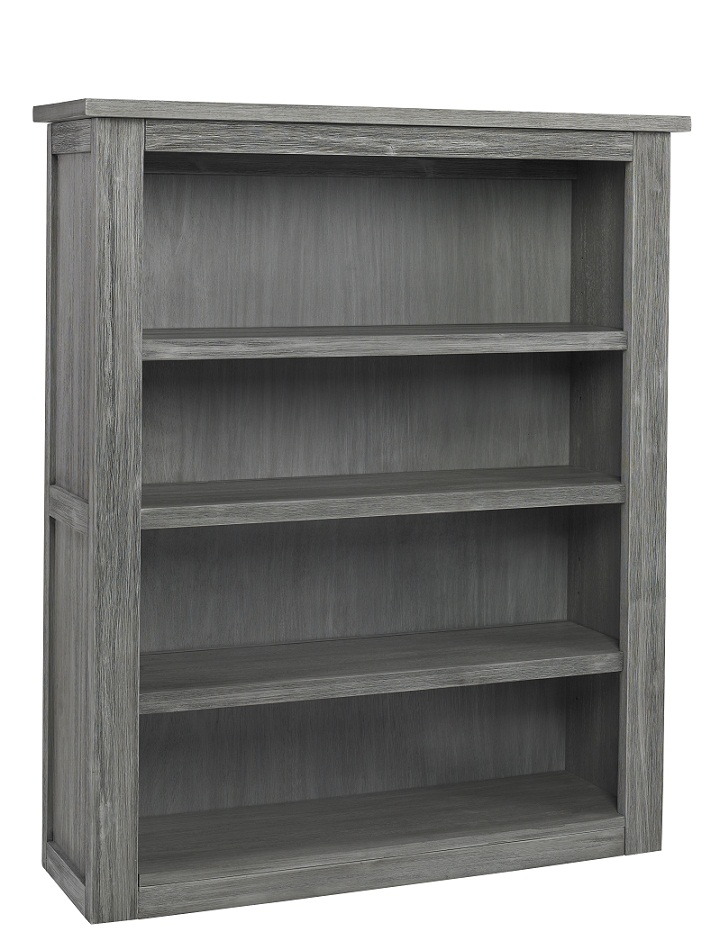 Docle Babi Lucca Hutch/Bookcase, Weathered Grey - Ideal Baby