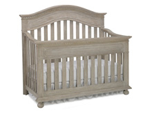 Dolce Babi Naples Convertible Crib, Driftwood