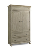 Dolce Babi Naples Armoire, Driftwood