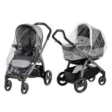 Peg Perego Book Pop Up Stroller Rain System in Clear