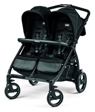 Peg Perego Book for Two Stroller Onyx Black