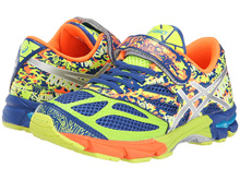Asics 60% Off Noosa Tri 10 PS Running Shoes Tri Blue/Light Flash Yellow