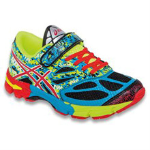 Asics 60% Off Noosa Tri 10 PS Running Shoes Black/Red/Yellow