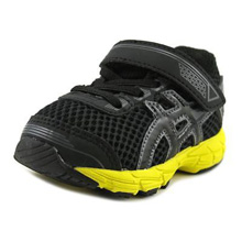 Asics 60% Off GT 1000 4 TS Running Shoe, Toddler -Black/Yellow