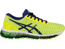 Asics 60% Off Gel Quantum 360 GS Yellow/Blue/Green